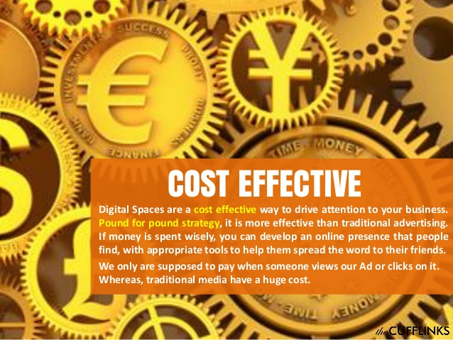 Digital marketing is Cost Effective